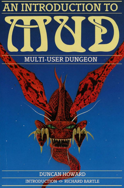 "This book is the closest we'll get to ""cover art"" for MUD1. [Source.]"