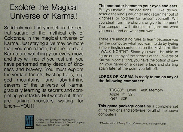 Via the Museum of Computer Adventure Games.